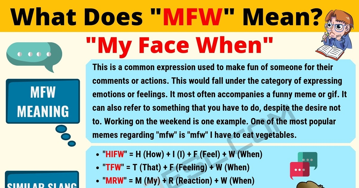 """""""MFW"""" Meaning 