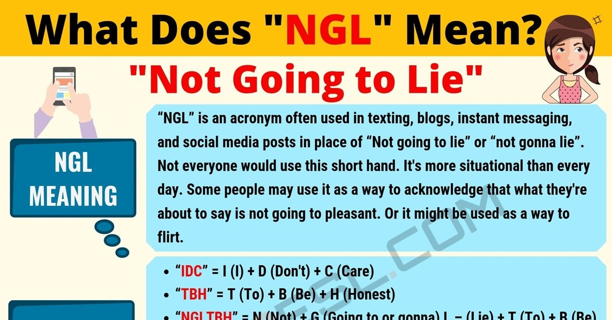 NGL Meaning: What Does NGL Mean? Useful Text Conversations 1