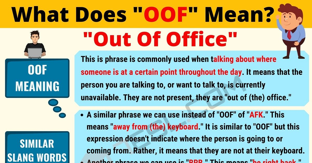 OOF Meaning: What Does OOF Mean? Useful Text Conversations - 7 E S L