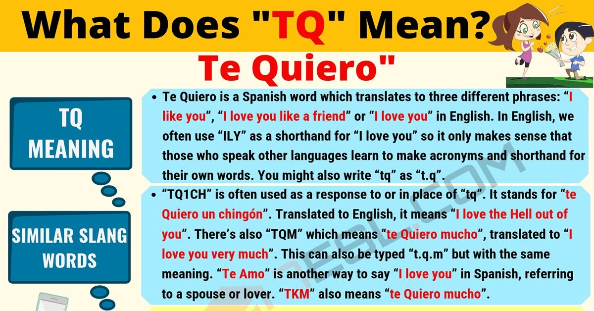 TQ Meaning: What Does TQ Mean? Useful Text Conversations 10
