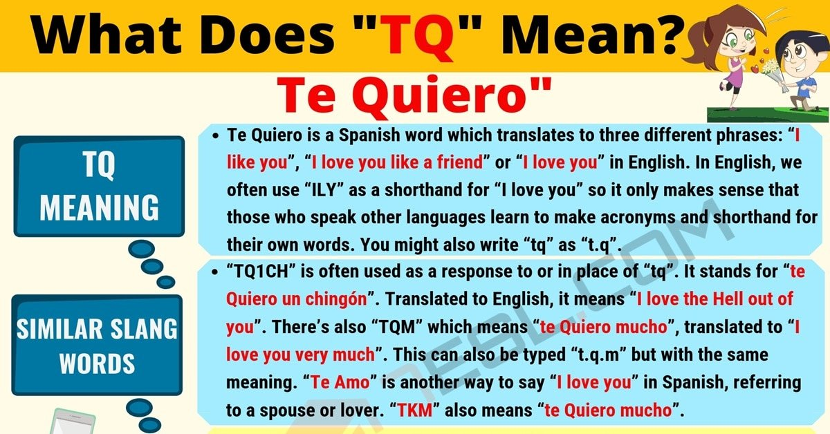 TQ Meaning: What Does TQ Mean? Useful Text Conversations 1
