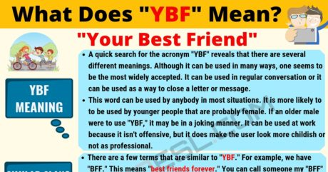 YBF Meaning: What Does YBF Mean? Useful Text Conversations