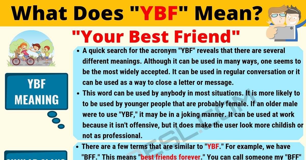 YBF Meaning: What Does YBF Mean? Useful Text Conversations 1
