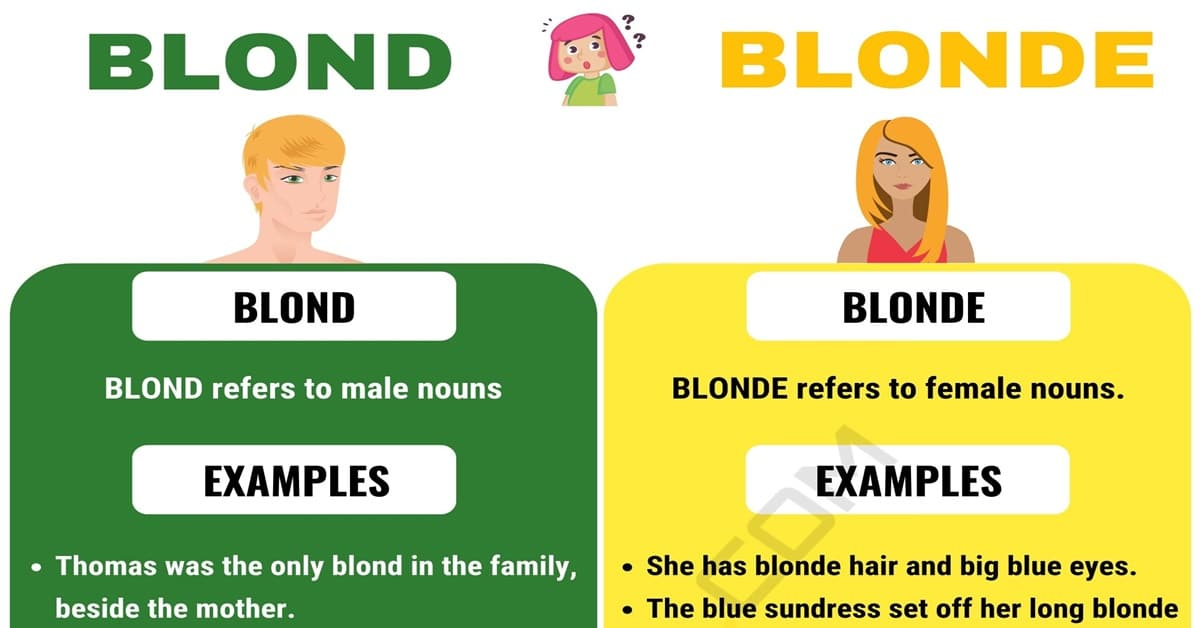 Blond or Blonde
