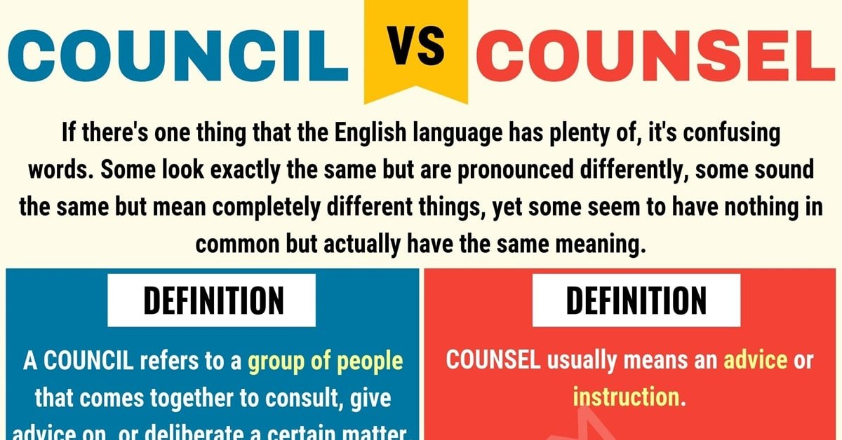 Council vs. Counsel