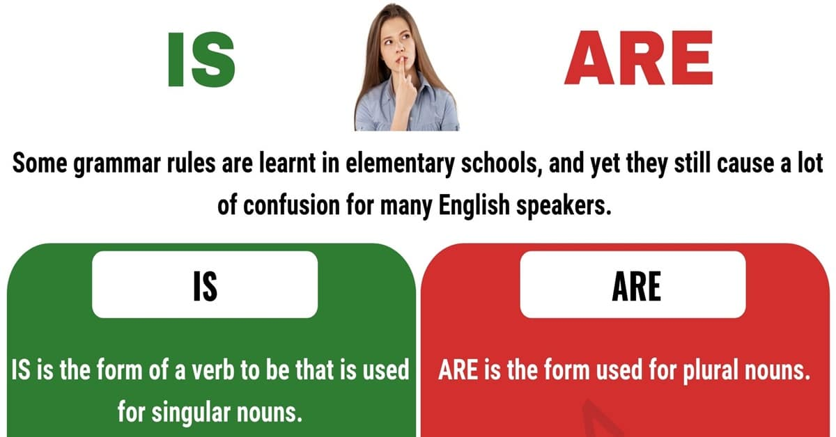 Is vs. Are