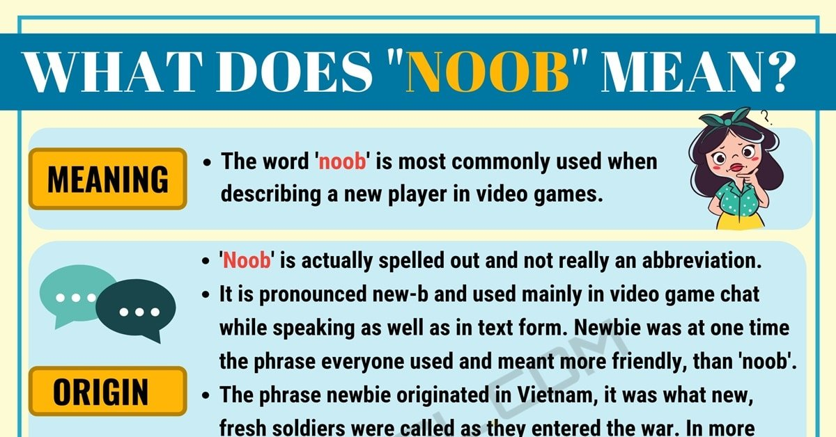 Noob Meaning: What Does Noob Mean? Useful Text Conversations 1
