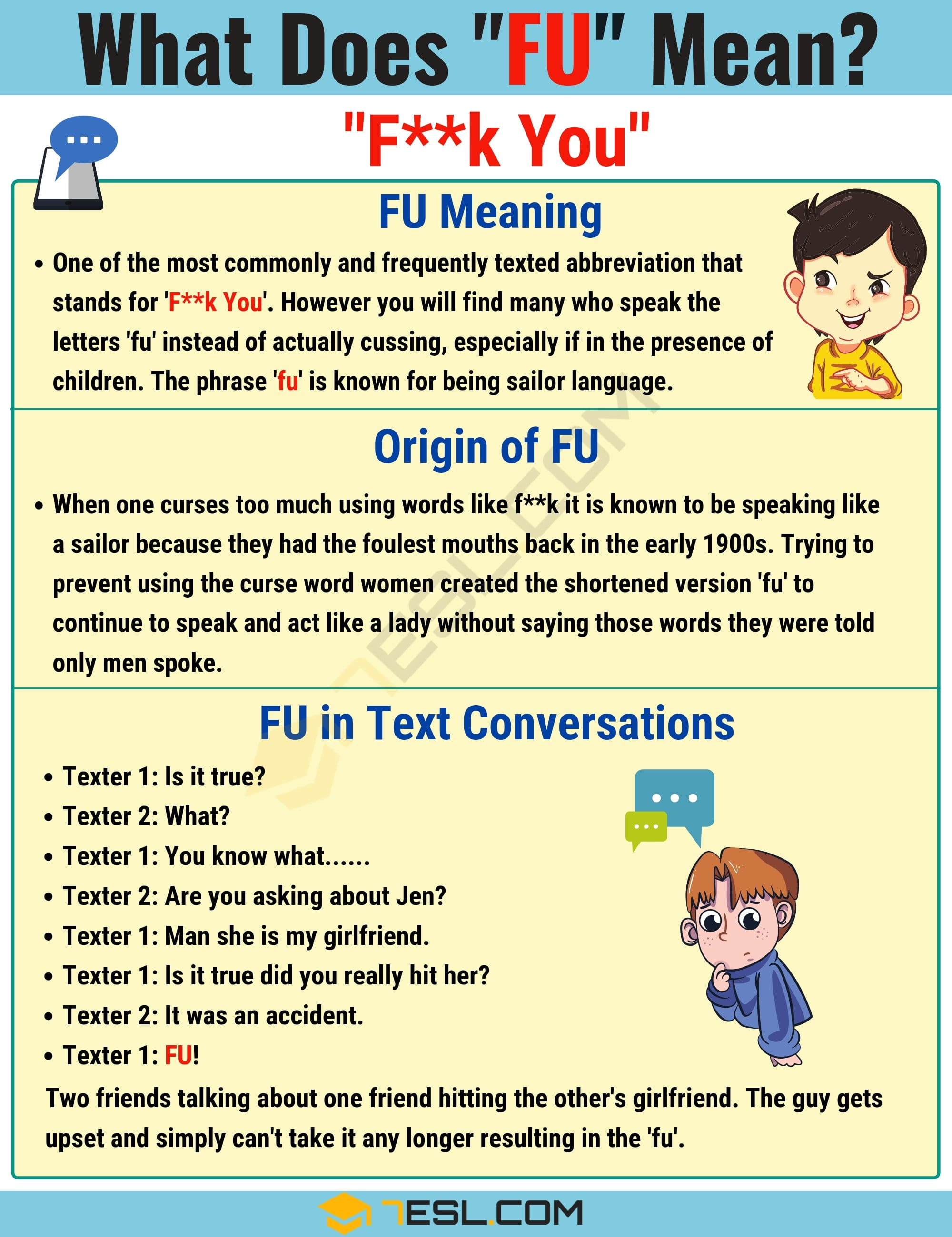 FU Meaning: What Does FU Mean and Stand for? 2
