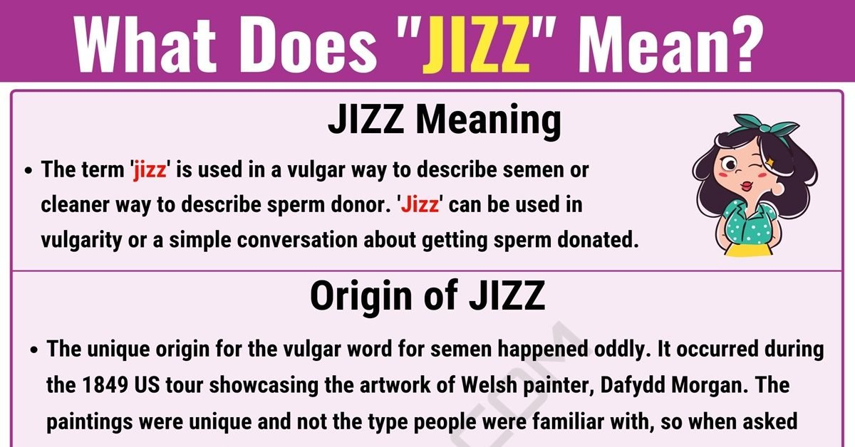 Jizz Meaning: What Does Jizz Mean? & Useful Text Conversations 1