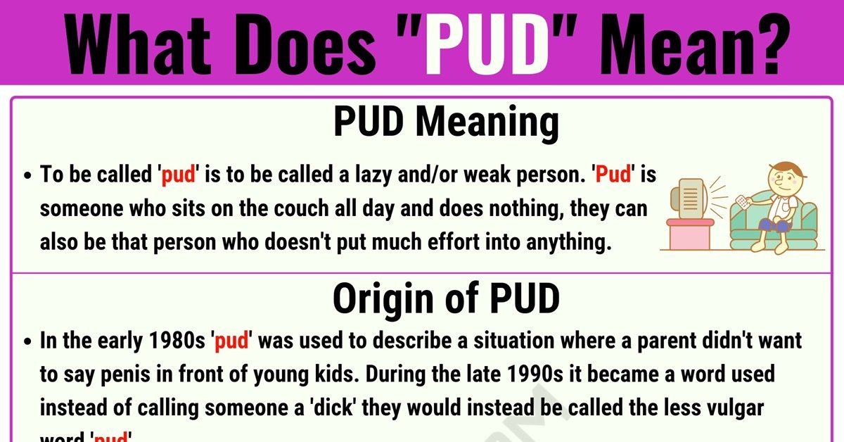 PUD Meaning: What Does PUD Mean? with Useful Text Conversations 1