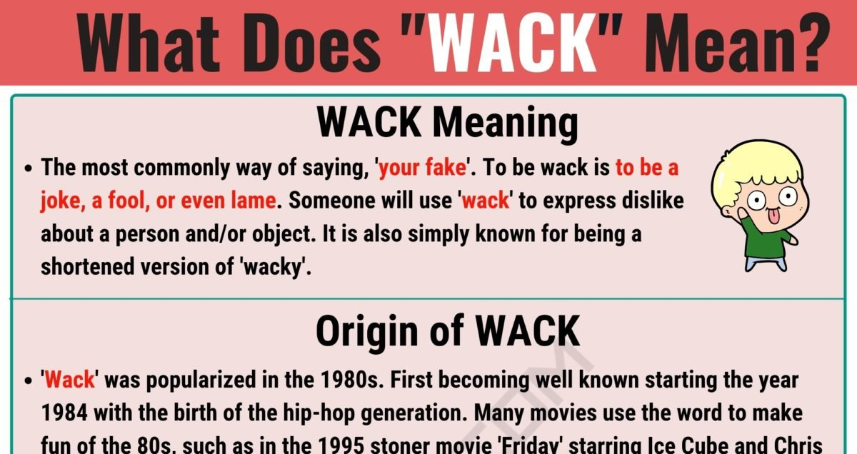 WACK Meaning: What Does WACK Mean? with Useful Examples 1