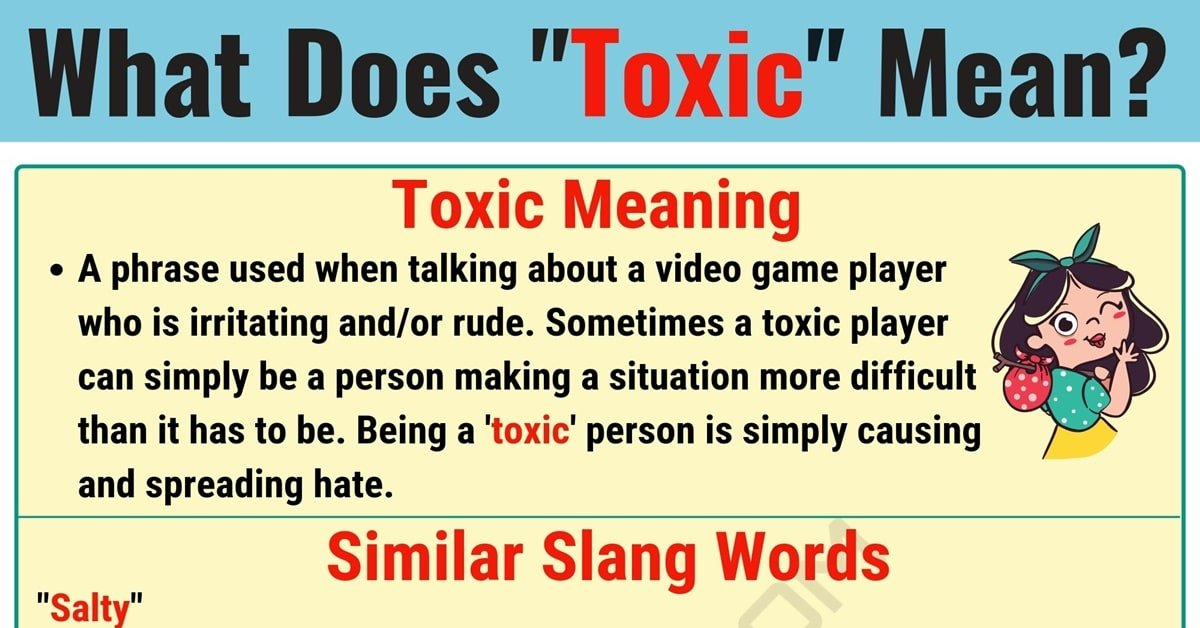Toxic Meaning: What Does Toxic Mean? Useful Text Conversations 1