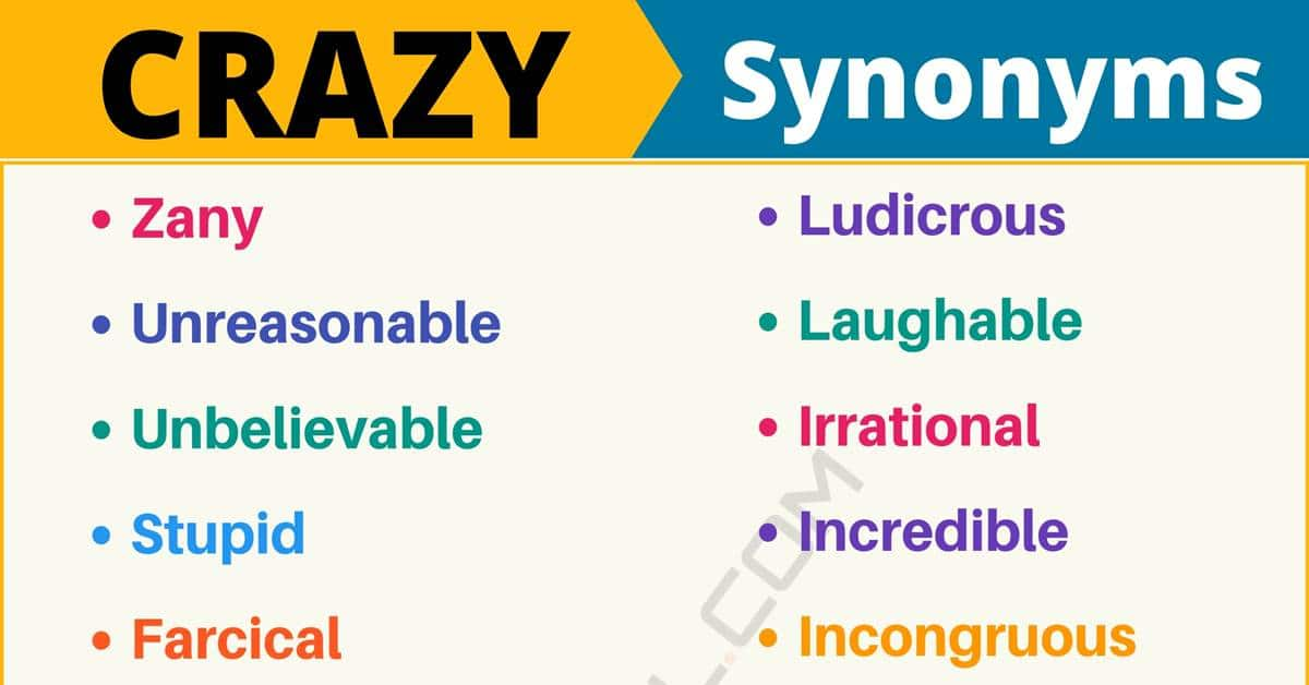 """Another Word for """"Crazy"""" 