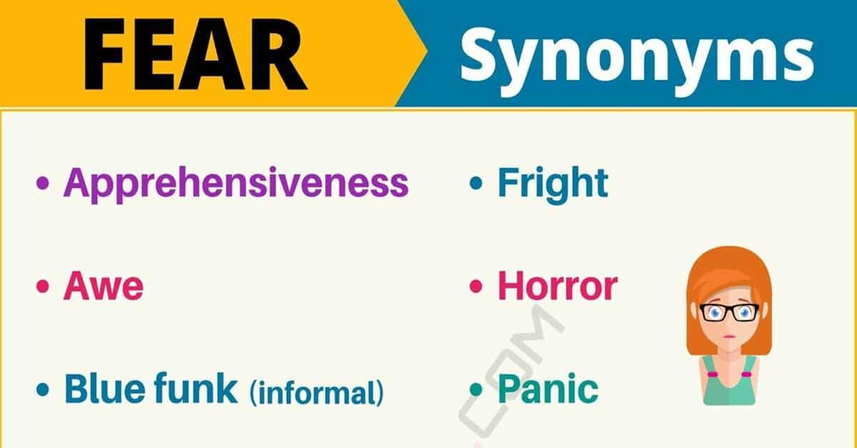 """Another Word for """"Fear"""" 