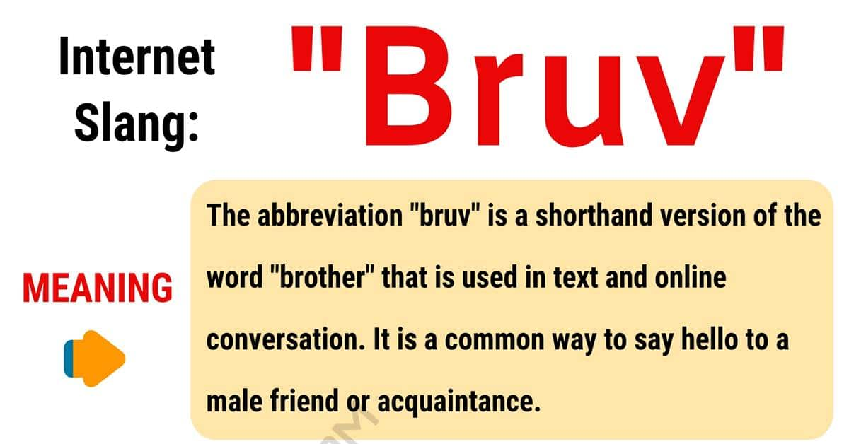 "Bruv Meaning: How to Use the Popular Term ""Bruv"" Correctly? 1"