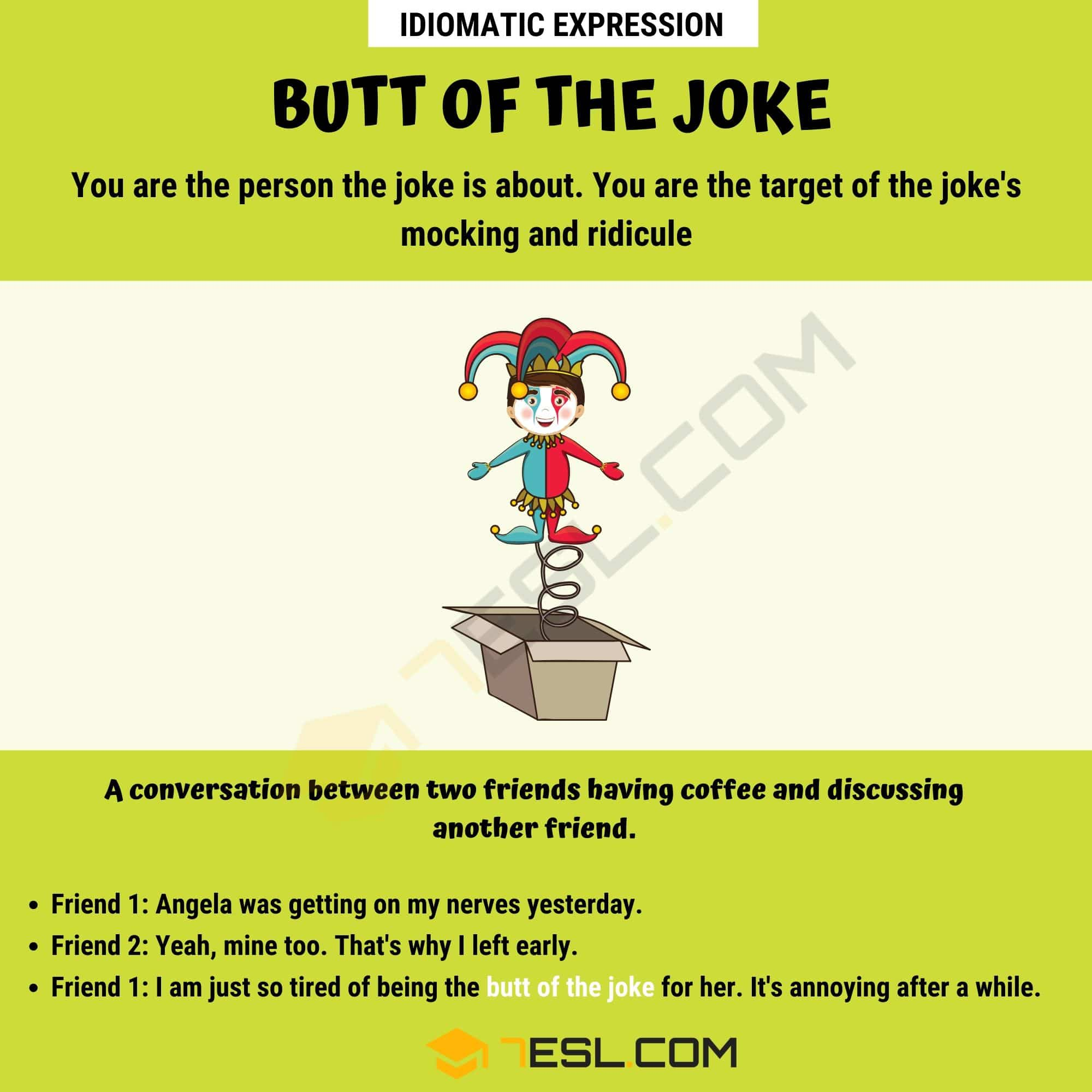 Butt Of The Joke
