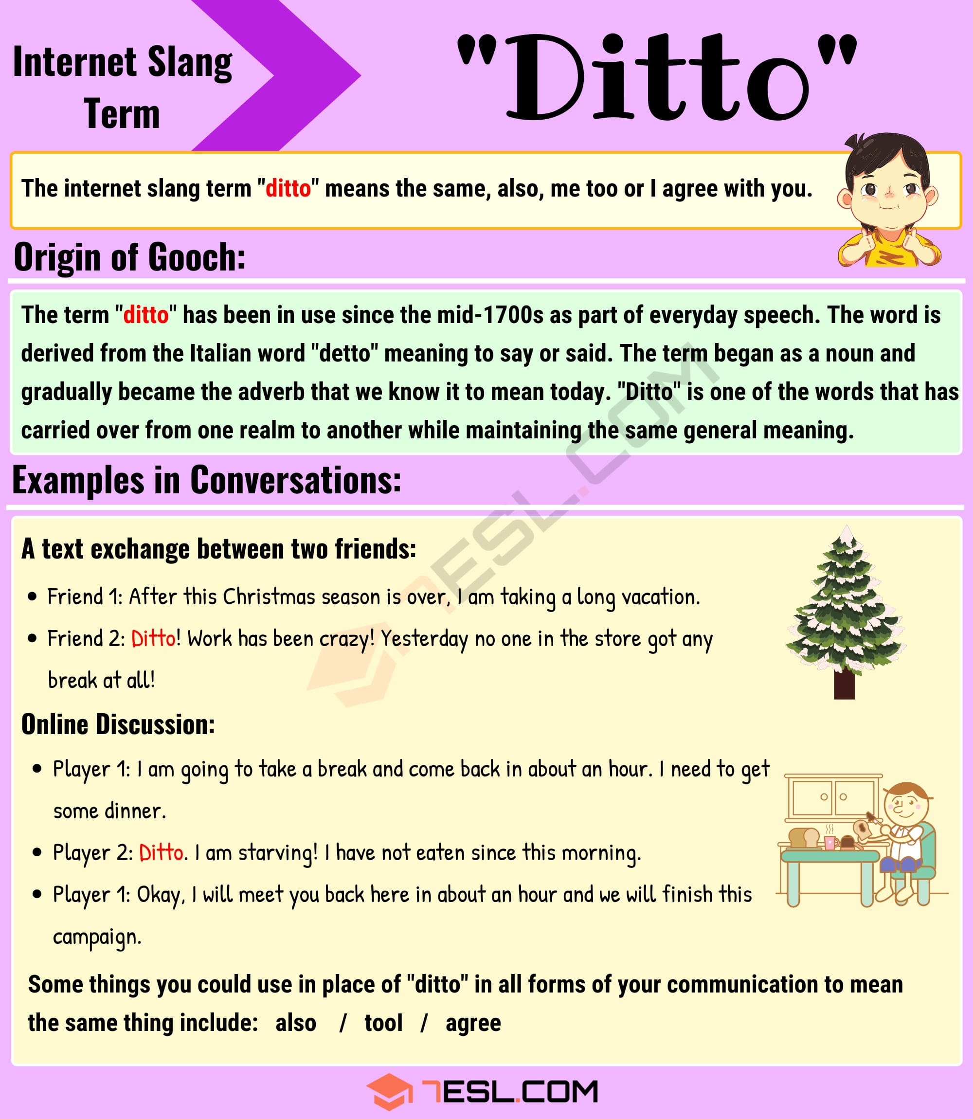 "Ditto Meaning: What Does the Interesting Slang Term ""Ditto"" Mean? 2"