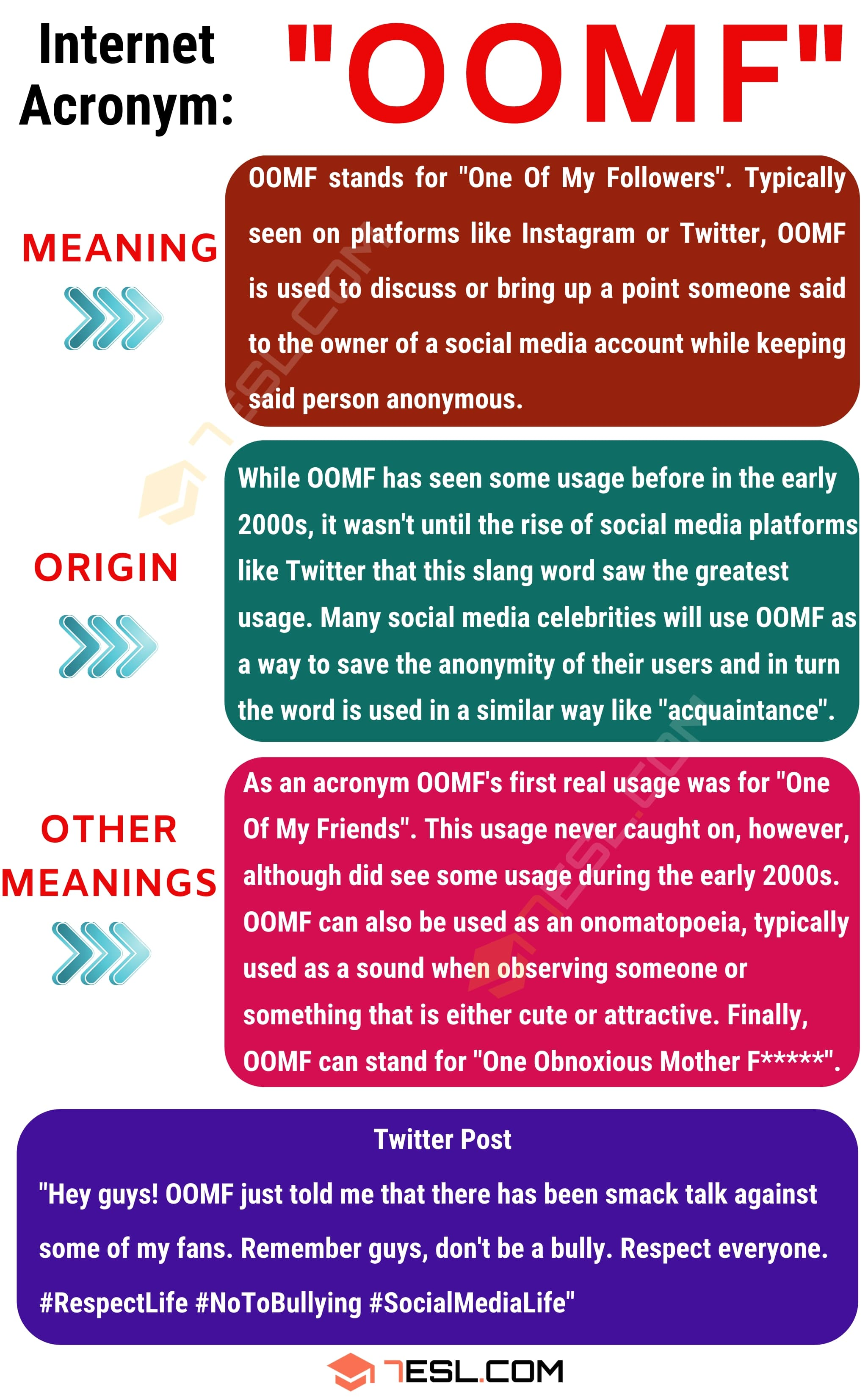 OOMF Meaning: What Does OOMF Mean? with Helpful Examples