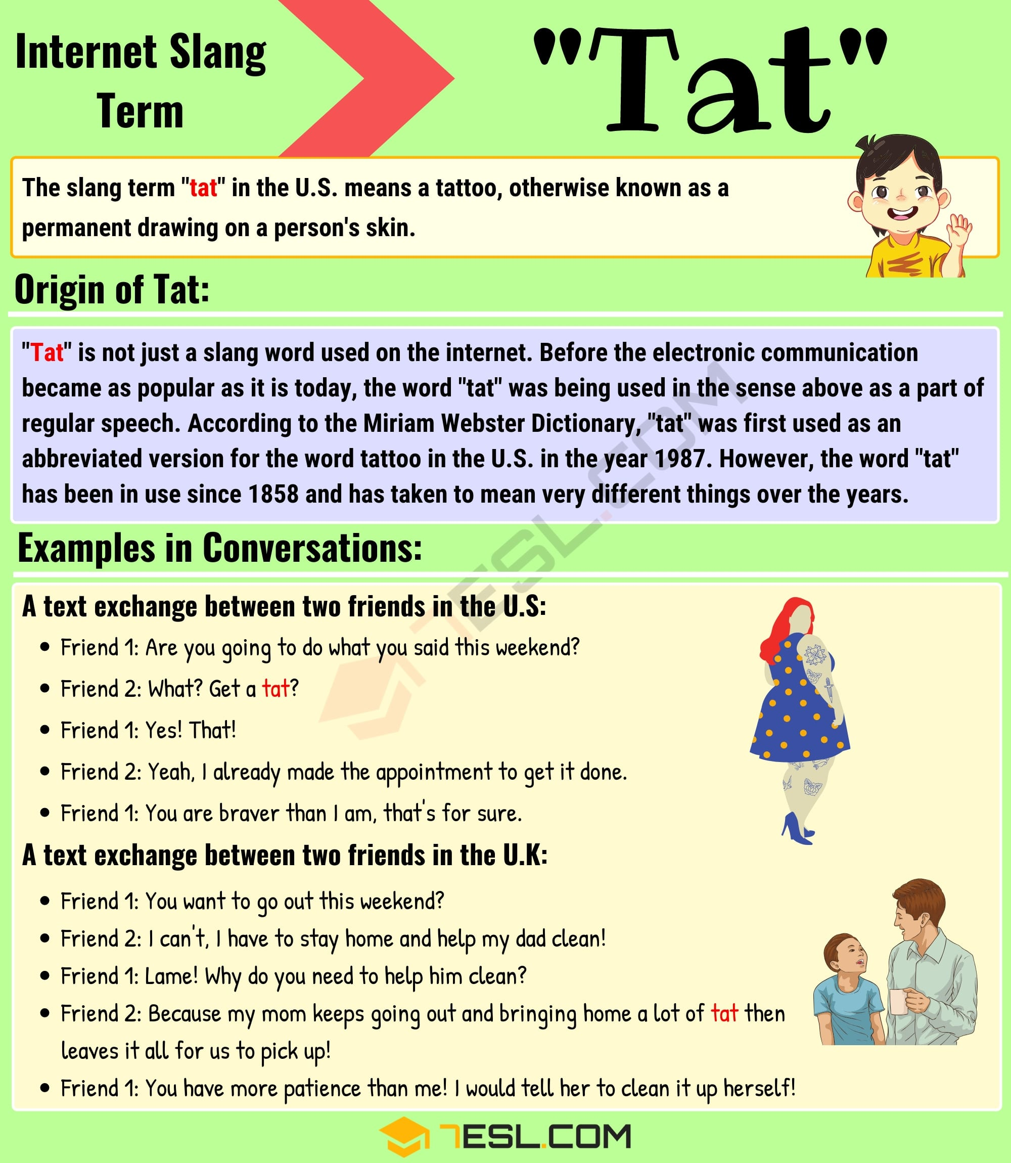 Tat Meaning: What is Tat and When Should You Use It? 2