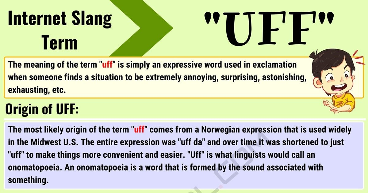 "Uff Meaning: What Does the Interesting Slang Term ""Uff"" Mean? 1"