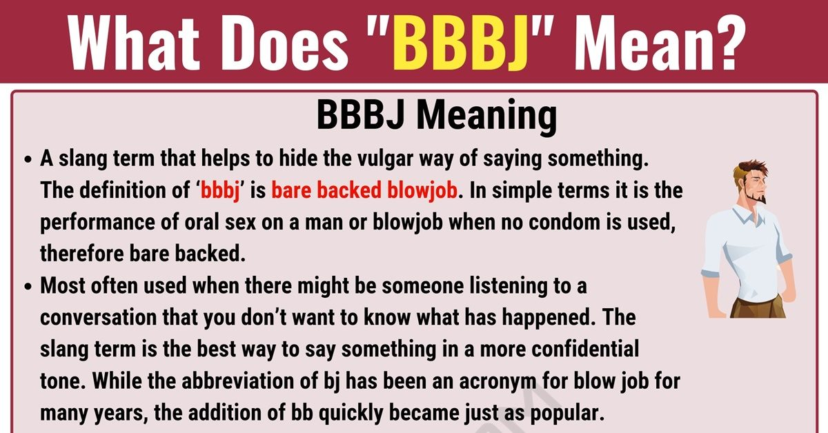 BBBJ Meaning: What Does BBBJ Mean and Stand for? 1