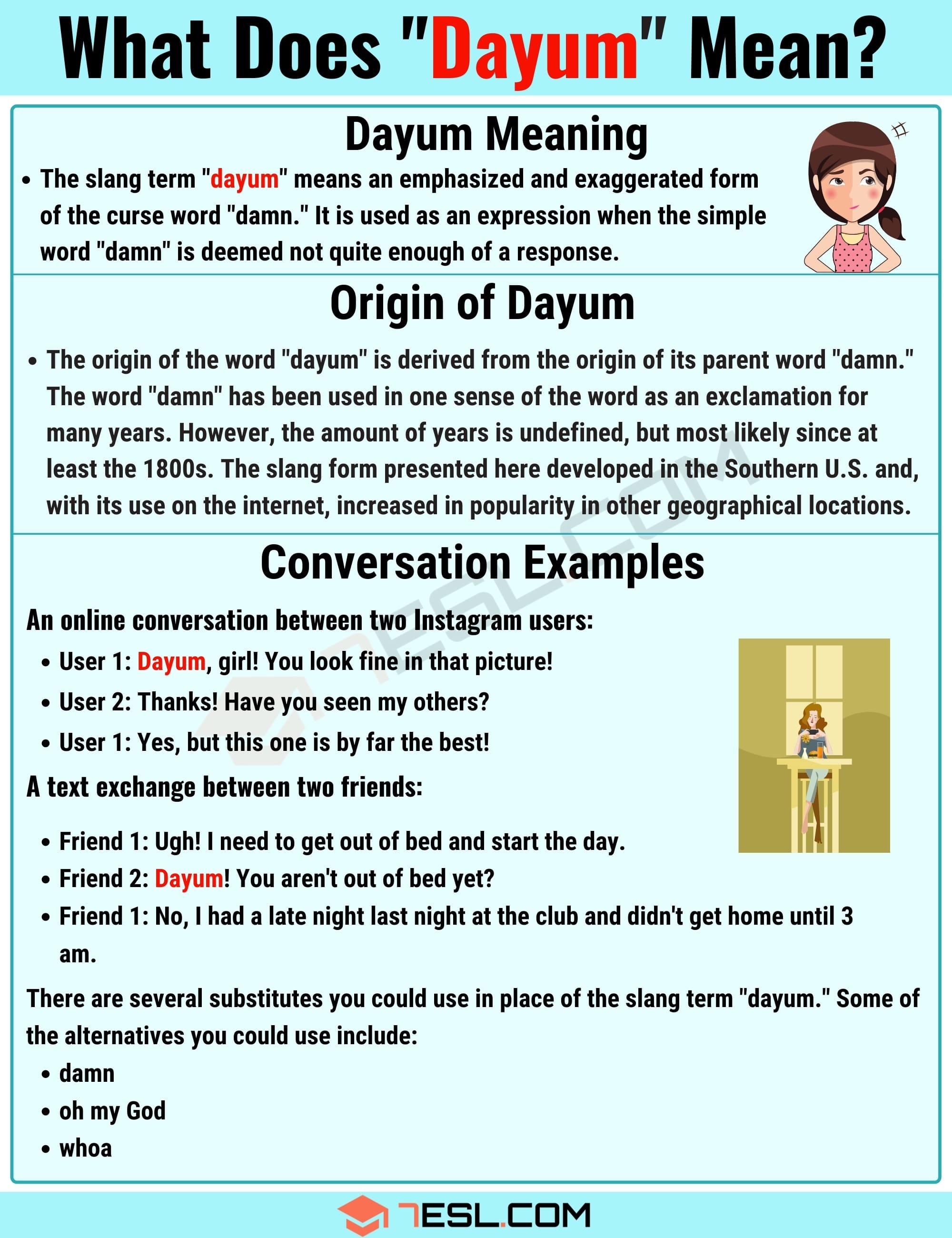 Dayum