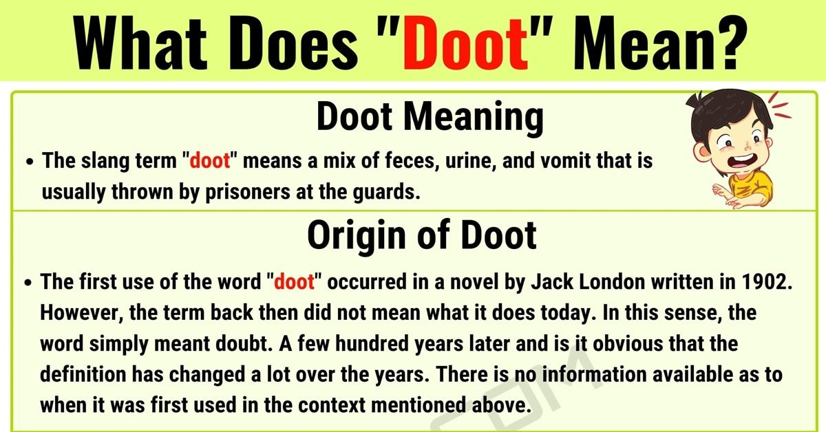 "Doot Meaning: How to Use the Online Slang Term ""Doot"" Correctly? 1"