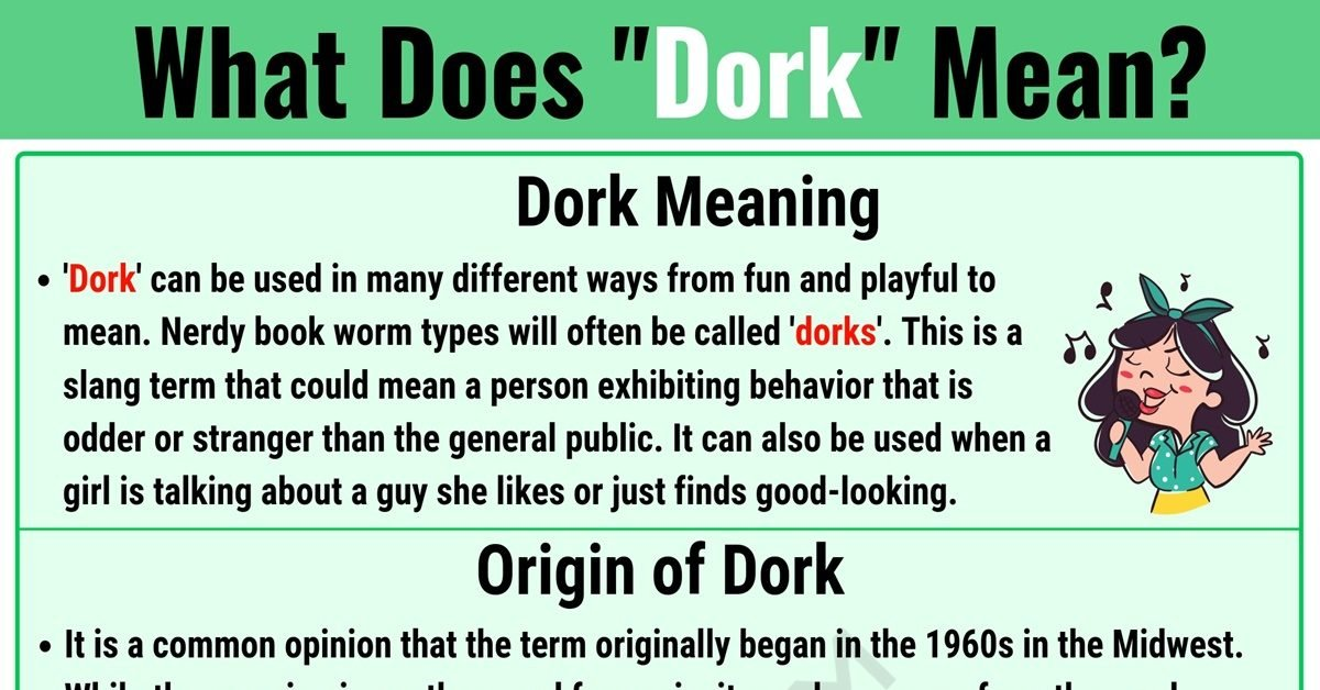 DORK Meaning: What Does DORK Mean? with Useful Examples 1
