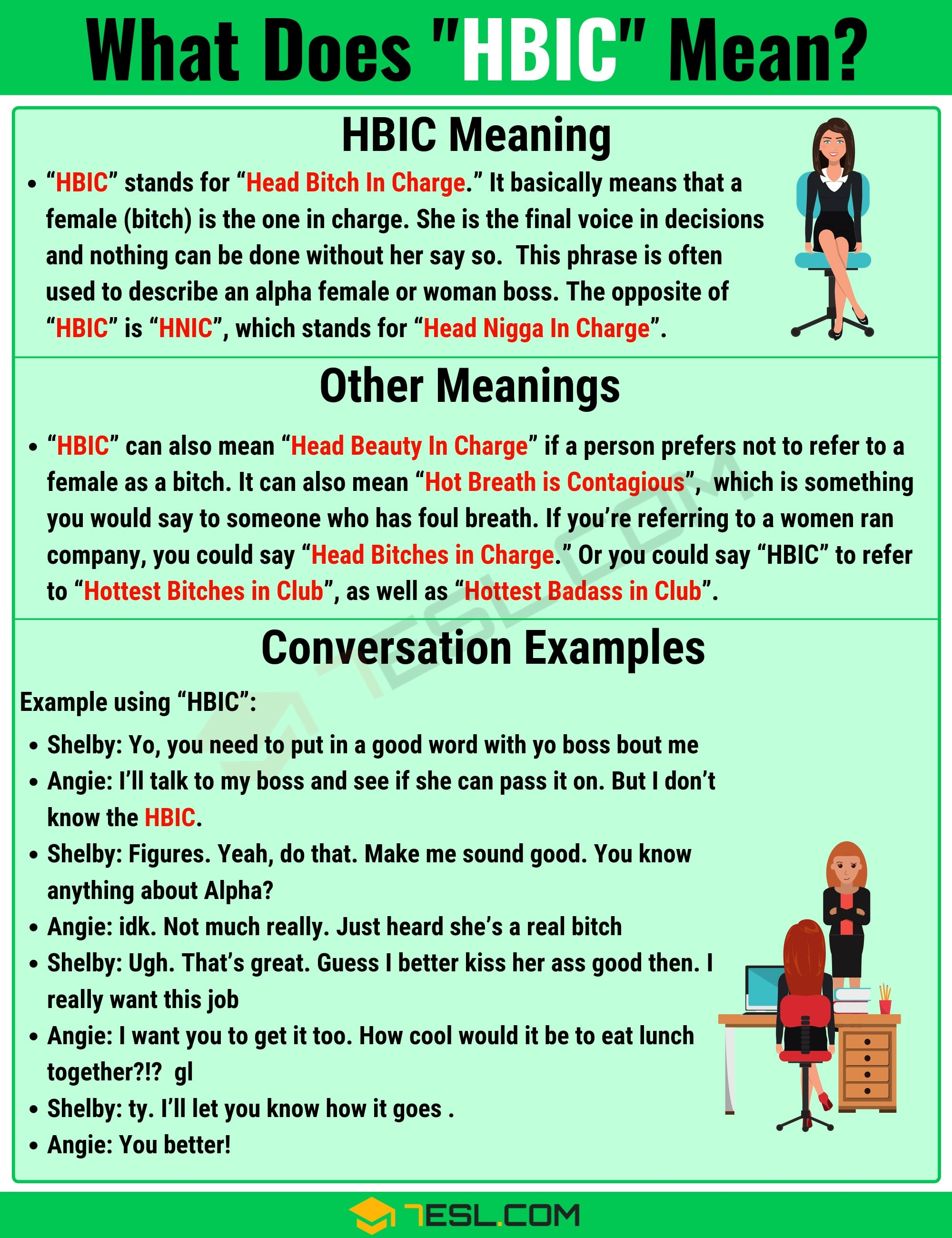 HBIC Meaning: What Does HBIC Mean? with Useful Examples 2