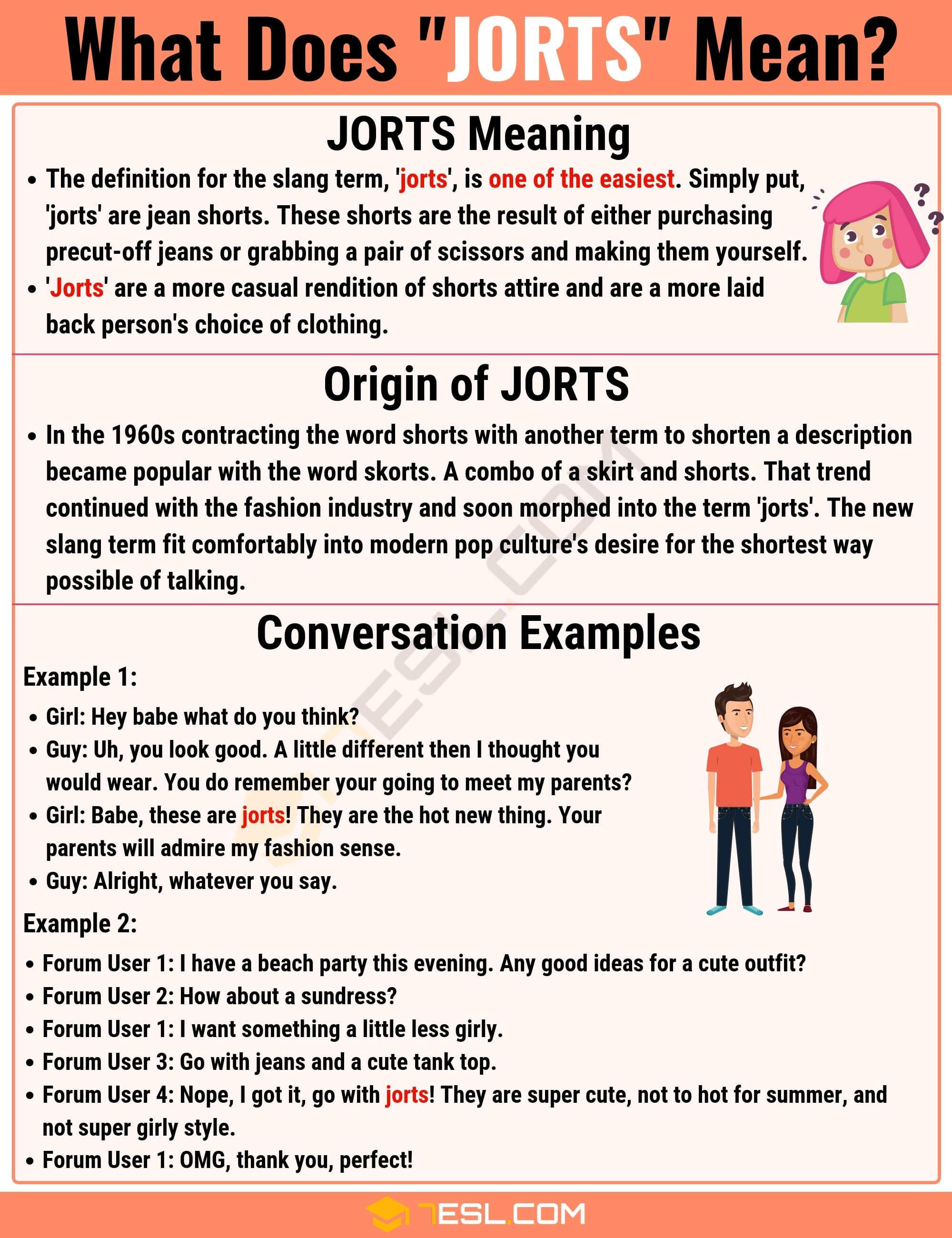 Jorts Meaning: What Does Jorts Mean? with Useful Examples 2
