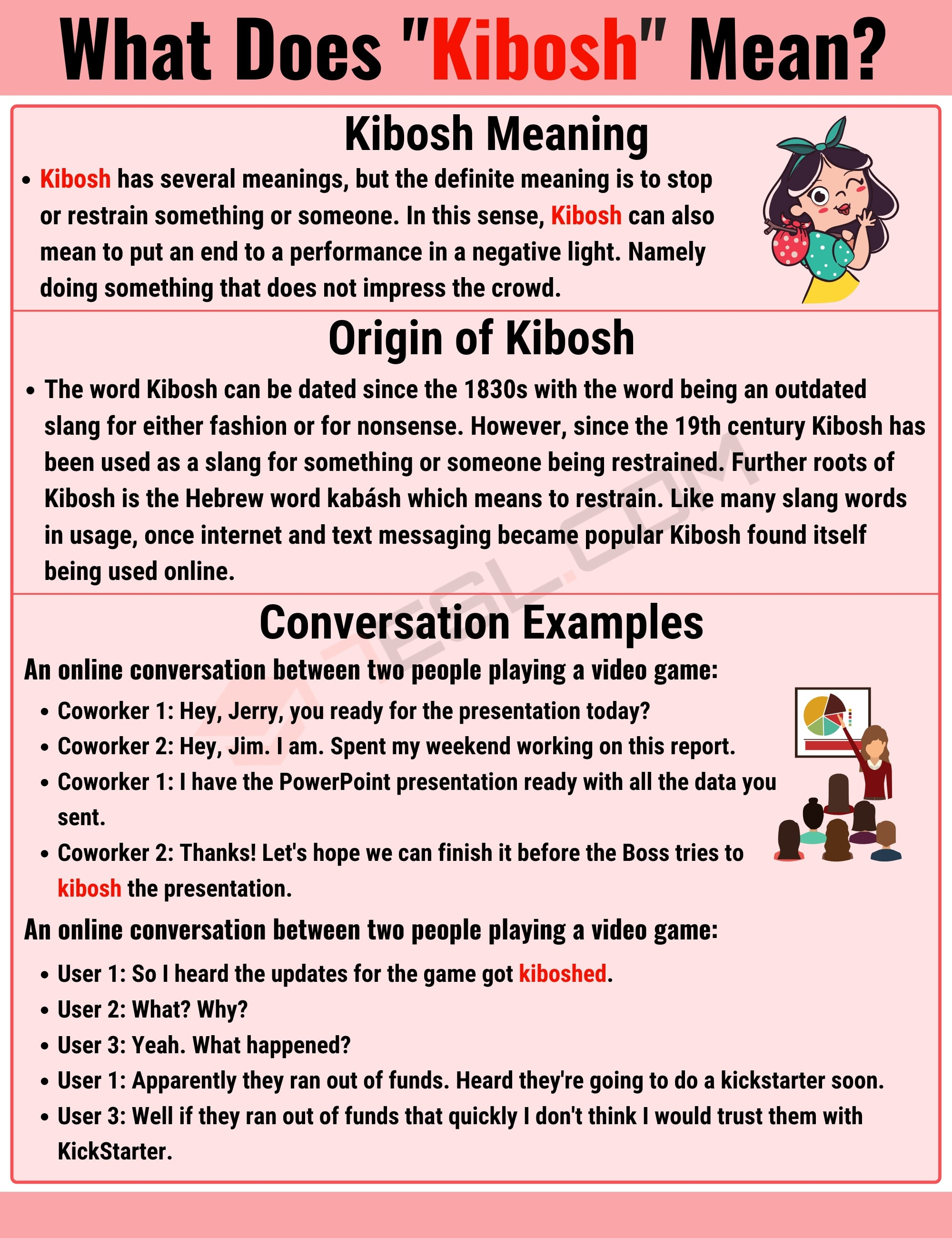 Kibosh meaning: What is Kibosh and When Should You Use this Helpful Term? 2