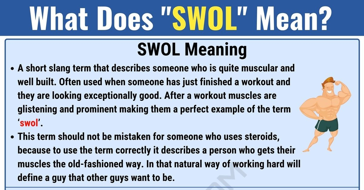 Swol Meaning: What Does Swol Mean? with Useful Conversations 1
