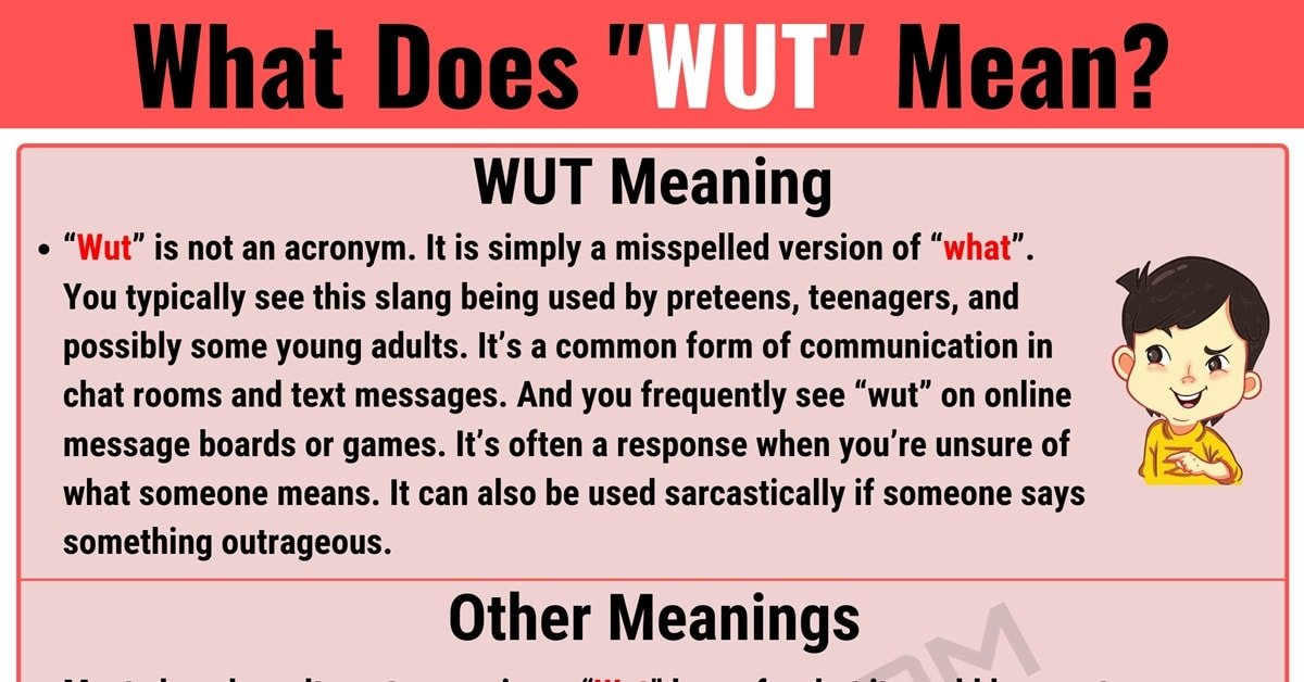 Wut Meaning: What Does Wut Mean? Interesting Text Conversations 1