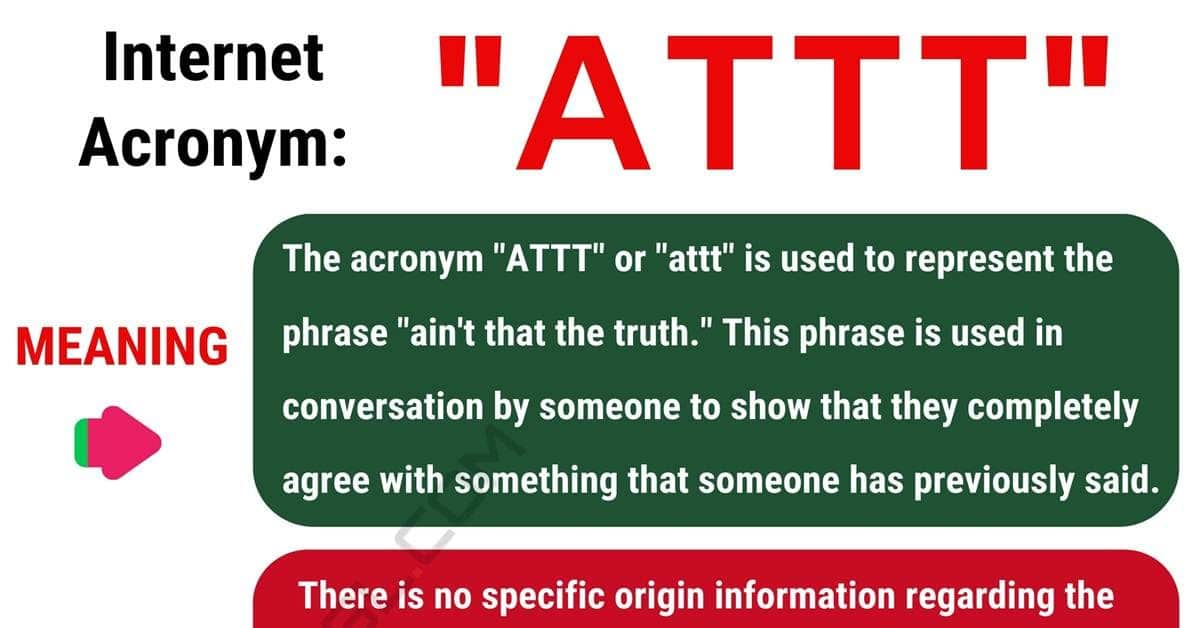 ATTT Meaning: What Does the Popular Term ATTT Stand For? 1