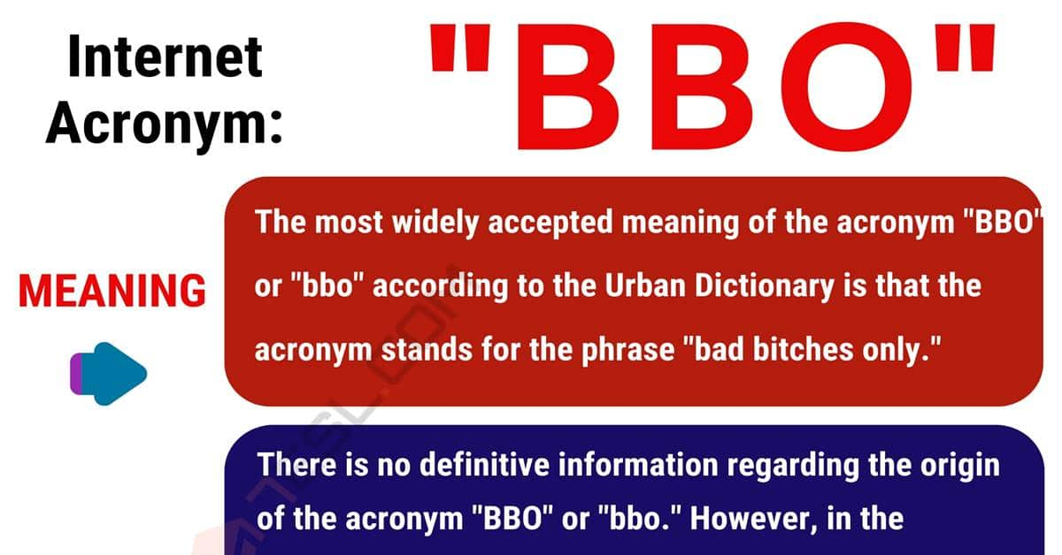BBO Meaning: What Does BBO Mean? (with Interesting Conversations) 1
