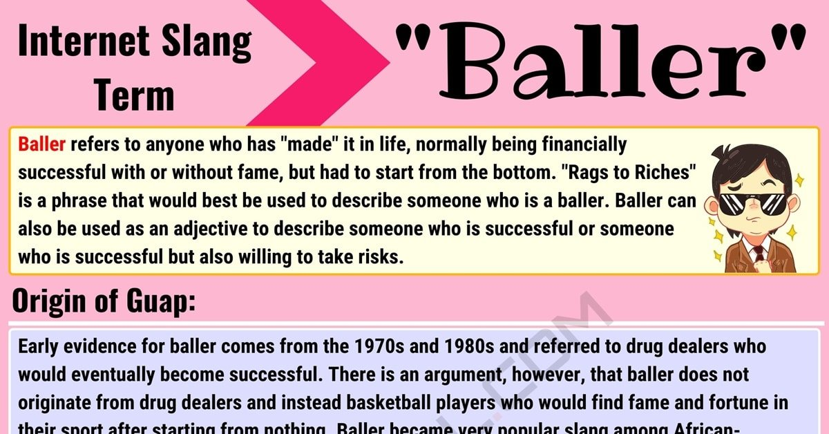 """Baller Meaning: What Does the Interesting Term """"Baller"""" Mean? 1"""