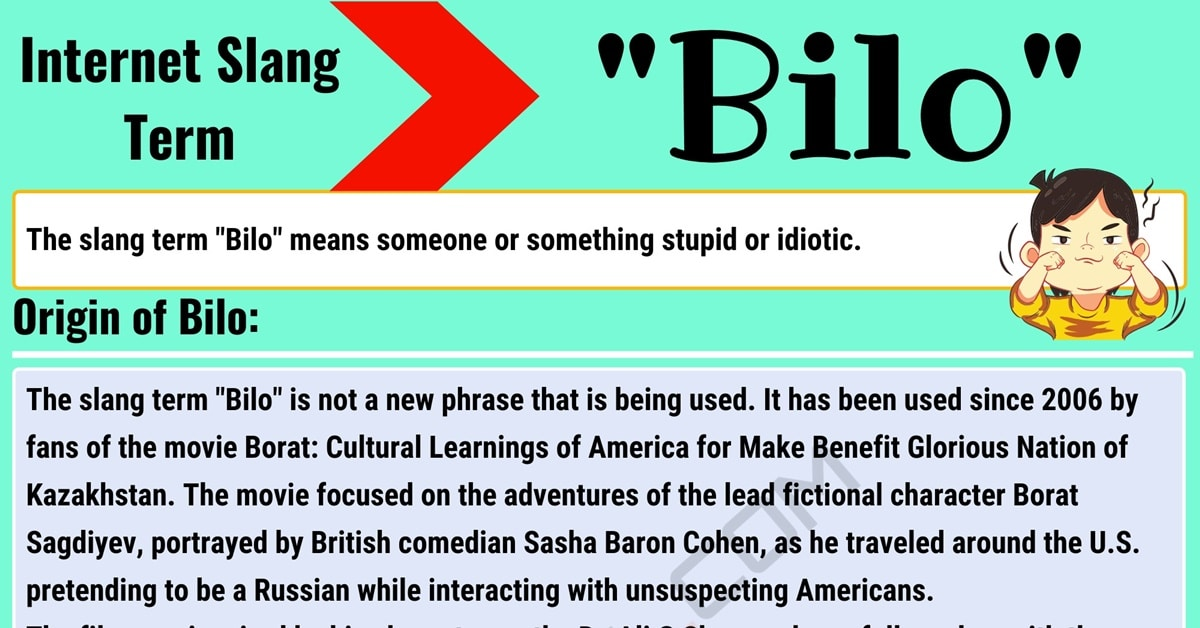 Bilo Meaning: What Does Bilo Mean? with Useful Conversations 1