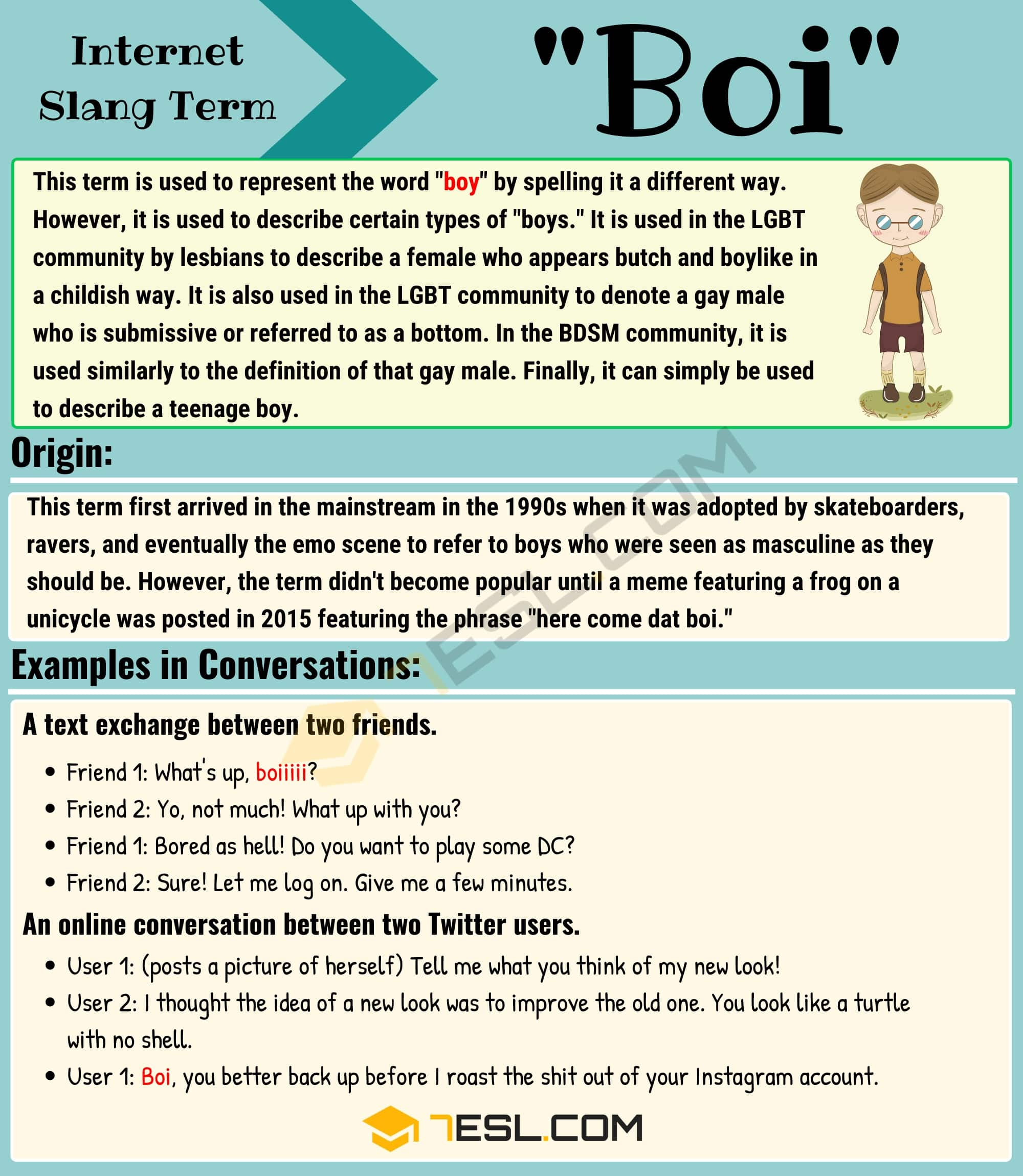 Boi Meaning: How to Use the Interesting Slang Term 'Boi'?