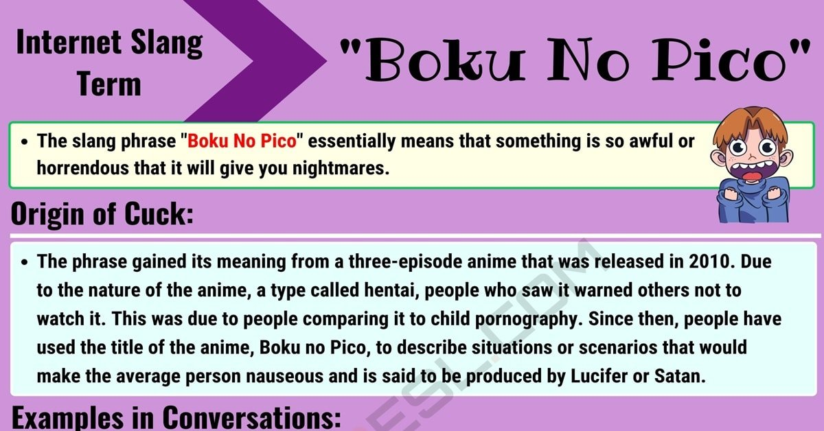 Boku No Pico Meaning: What does this Interesting Slang Term Mean? 1