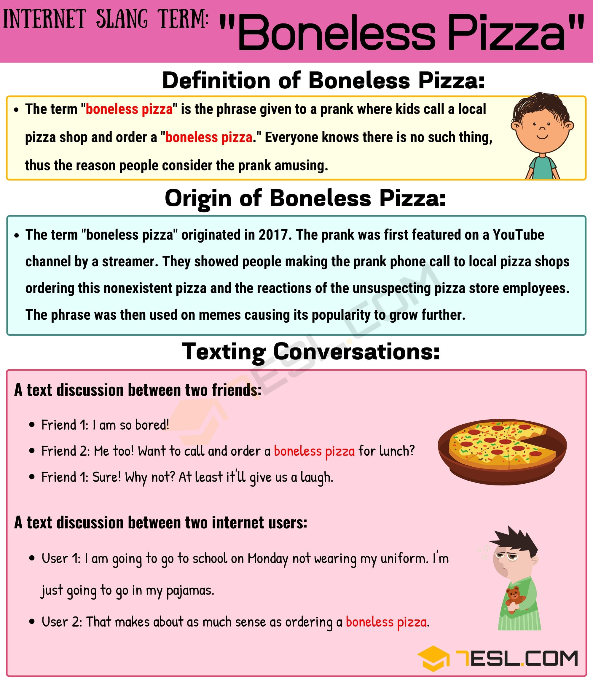 Boneless Pizza Meaning: How to Use this Funny Term Correctly? 2