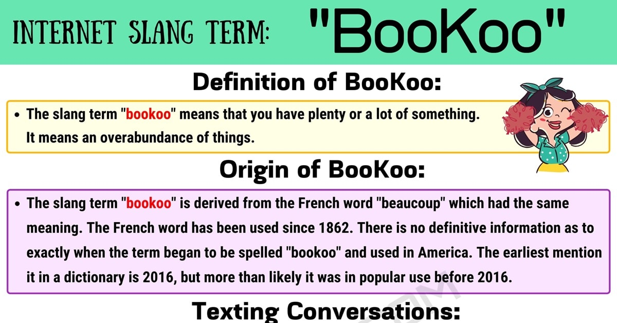 BooKoo Meaning: How Do You Define the Useful Slang Term 'BooKoo'? 1