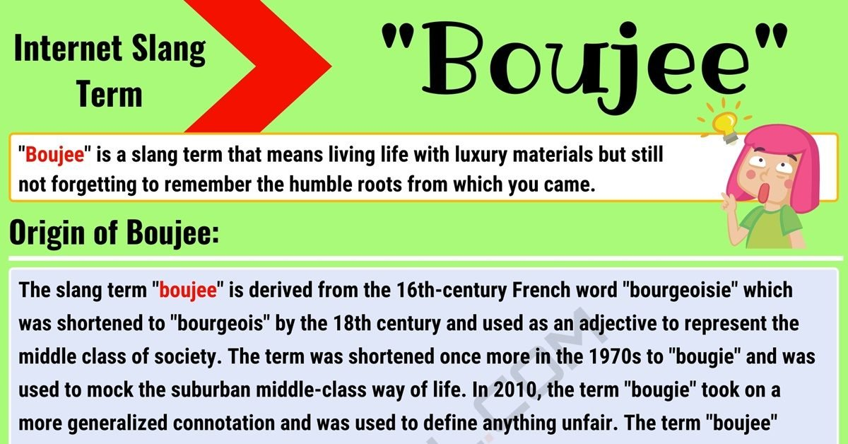Boujee Meaning: What Does Boujee Mean? with Useful Conversations 1