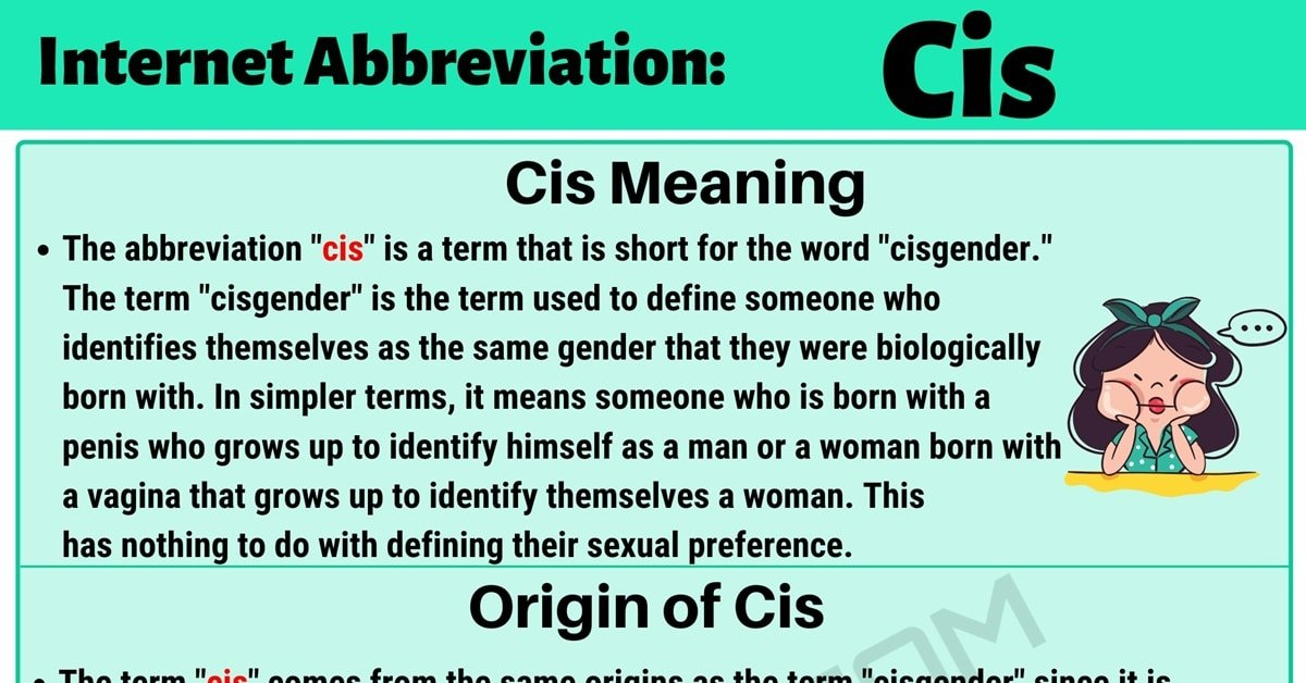 """""""Cis"""" Meaning 