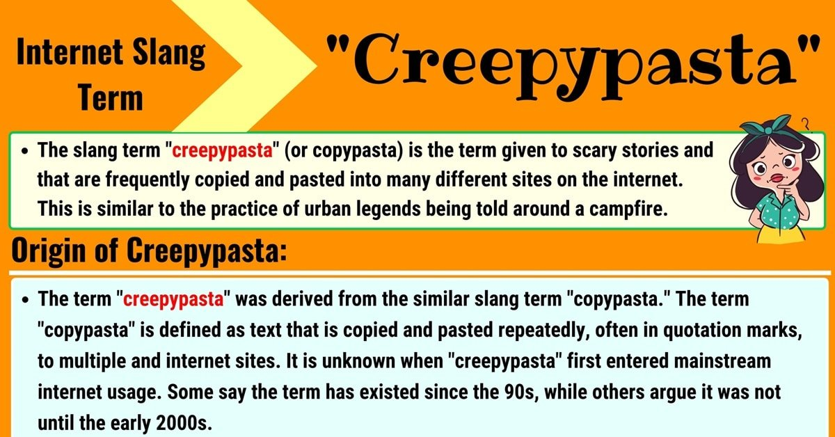 Creepypasta Meaning: What Does the Scary Term 'Creepypasta' Mean? 1