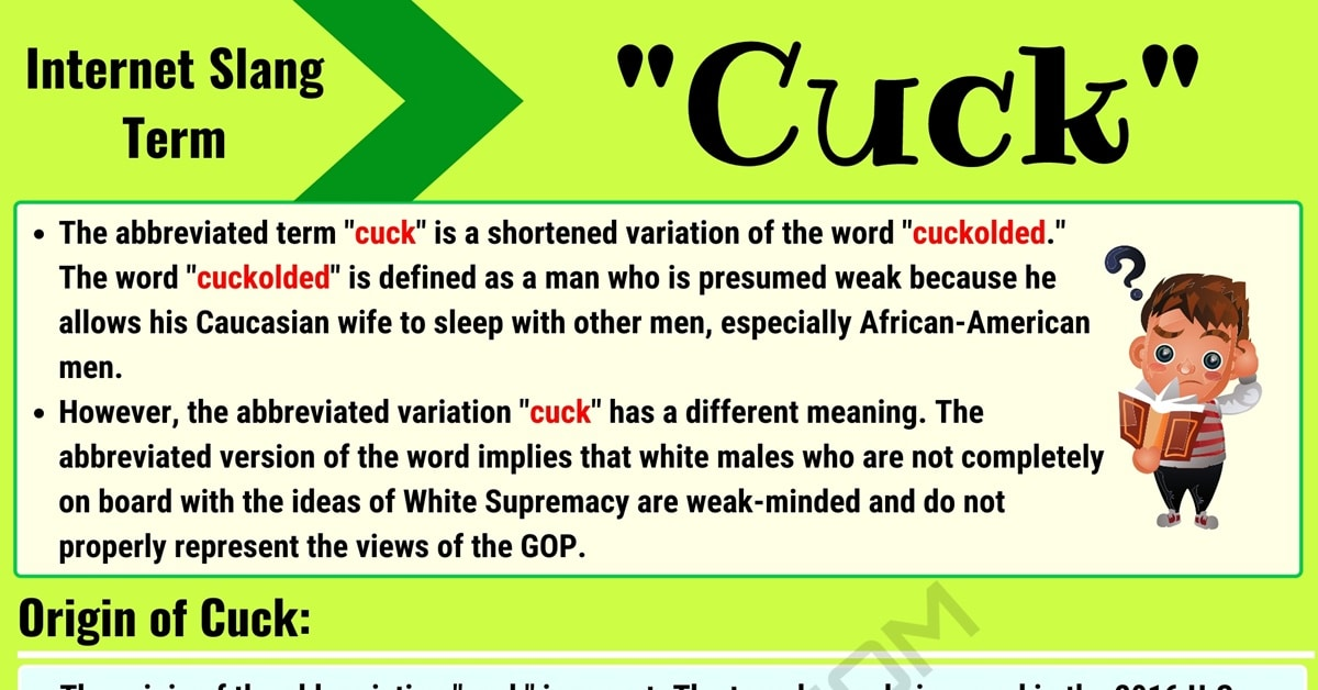 Cuck Meaning: What It Stands for on Social Media (with Useful Conversations) 1