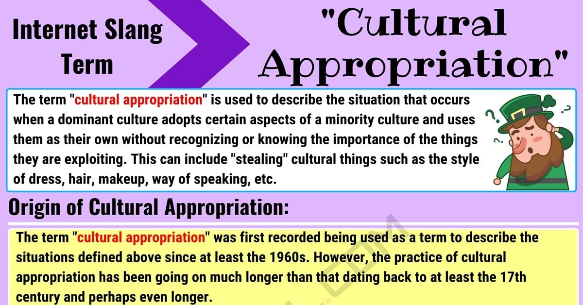 Cultural Appropriation Meaning with Useful Examples 1
