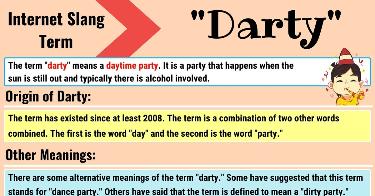 Darty Meaning: What Does Darty Mean? (with Useful Examples) 1