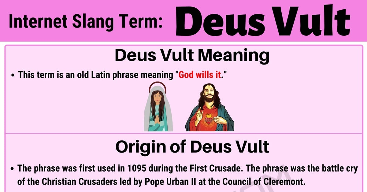 """Deus Vult"" Meaning 
