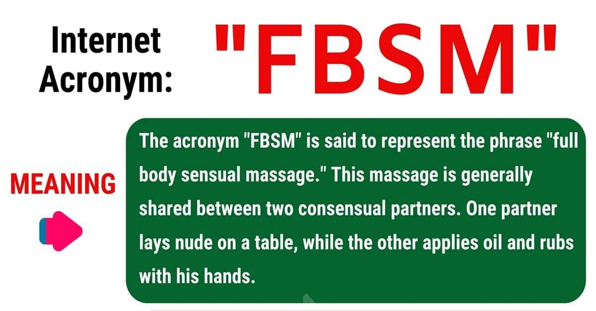 FBSM Meaning: What Does FBSM Mean and Stand For? 1