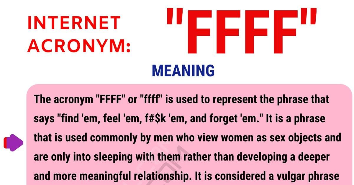 FFFF Meaning: What Does FFFF Mean and Stand For? 1